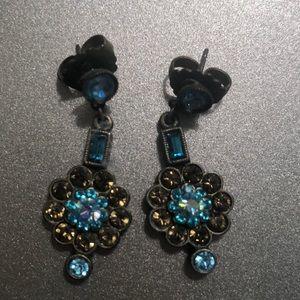 Sorrelli blue crystal earring